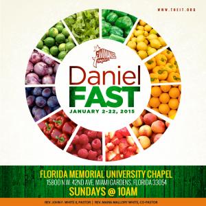 Daniel Fast big
