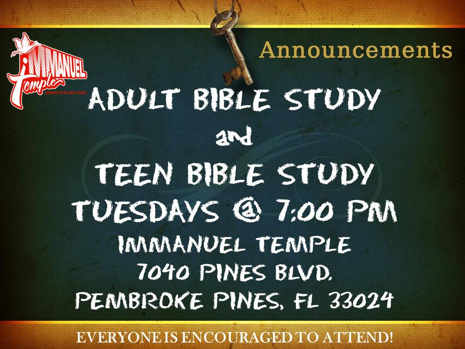 Bible for young adults