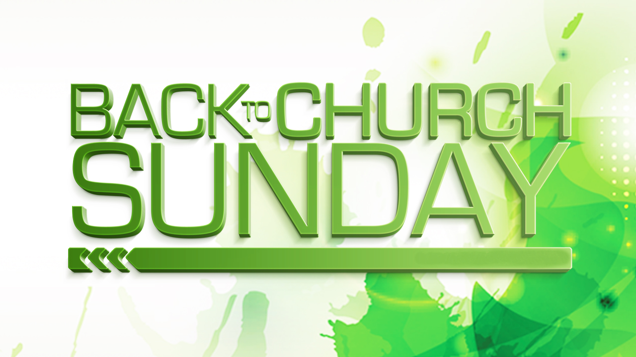 Back to Church Sunday – The Immanuel Temple